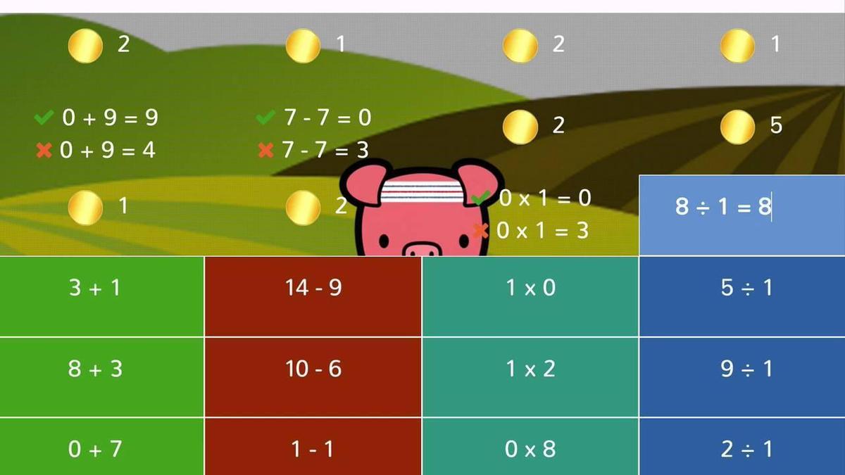 Freckle Math Fact