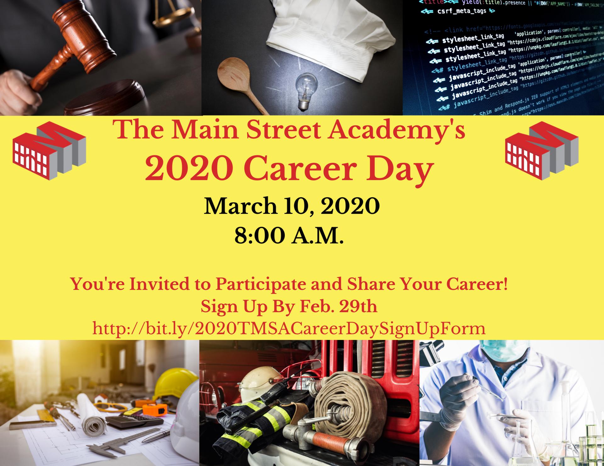 TMSA 2020 Career Day