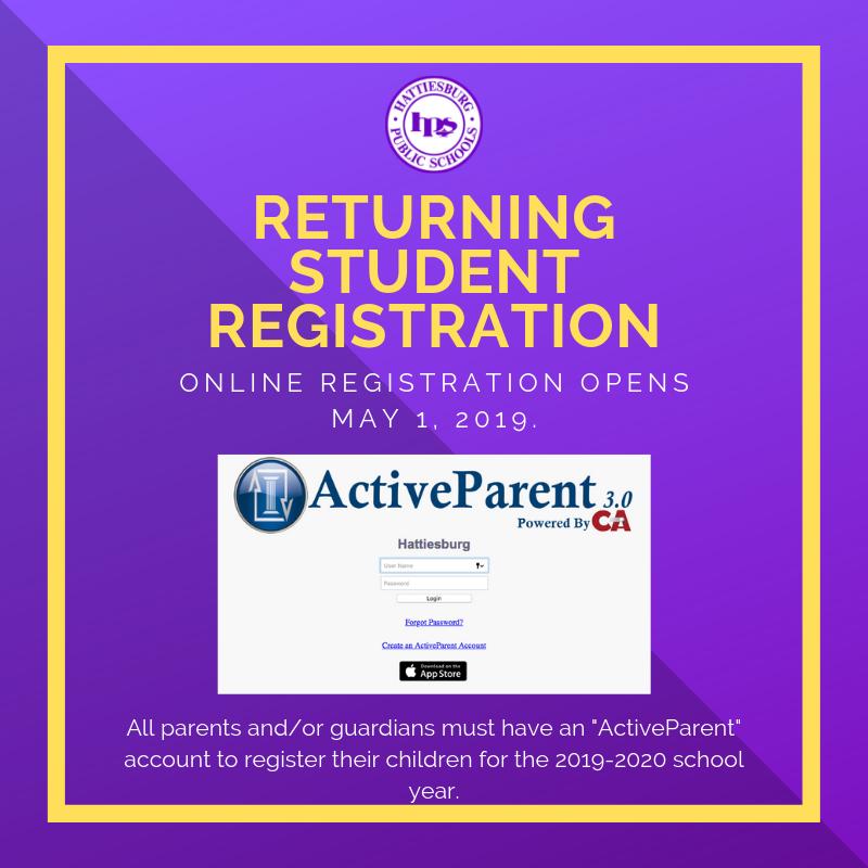 2019-2020 Registration Information Image