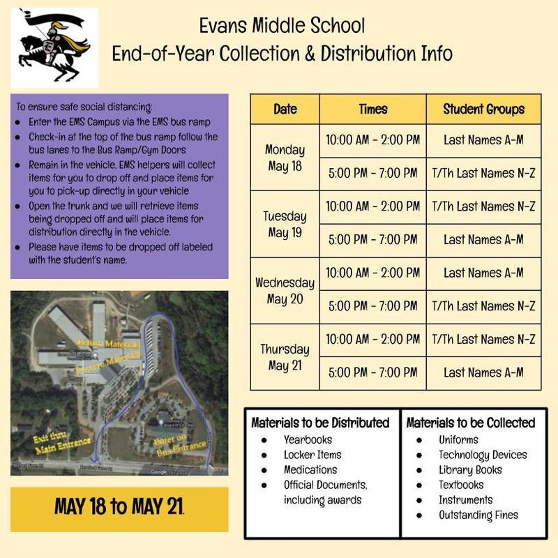 end of year plan evans middle school ems