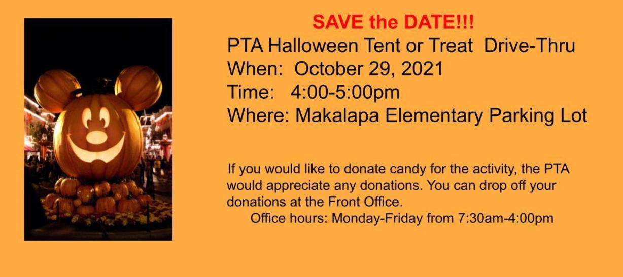 Tent or Treat