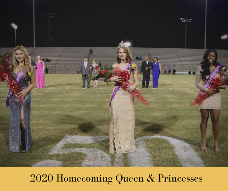 Fort Crowned 2020 Homecoming Queen