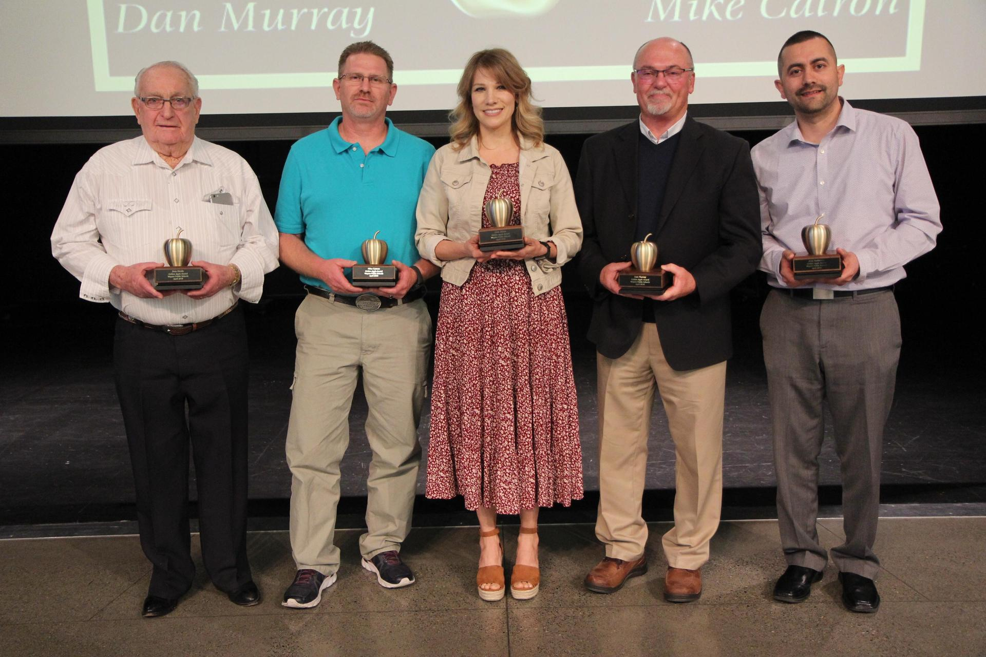 Golden Apple Award Winners