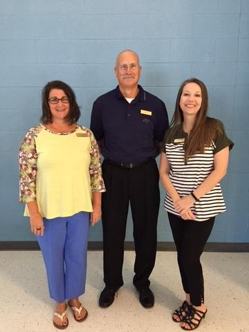 Mrs. Leggett, Mr. Marshall, and Mrs. Fowler
