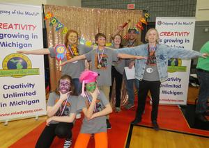 The Middle School OM team is heading to the world finals.