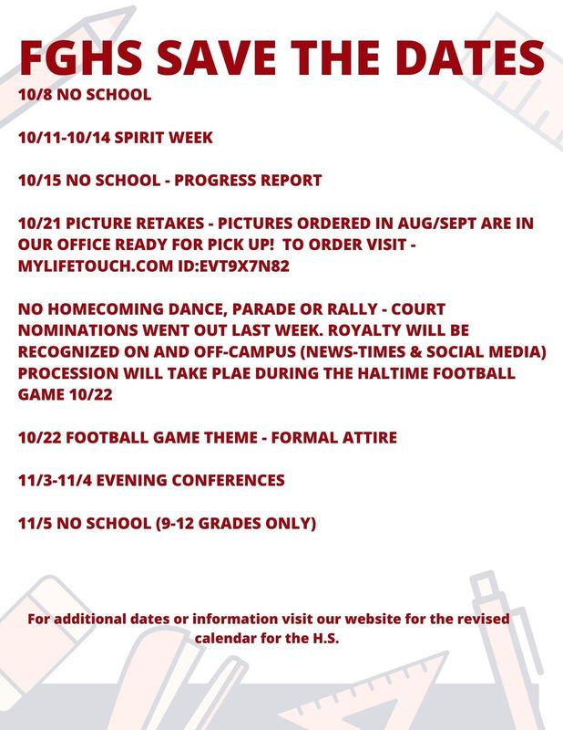 FGHS Flyer for save the date