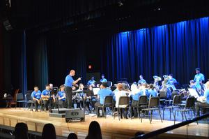 Bensalem High School Concert Band perform The Great Steamboat Race