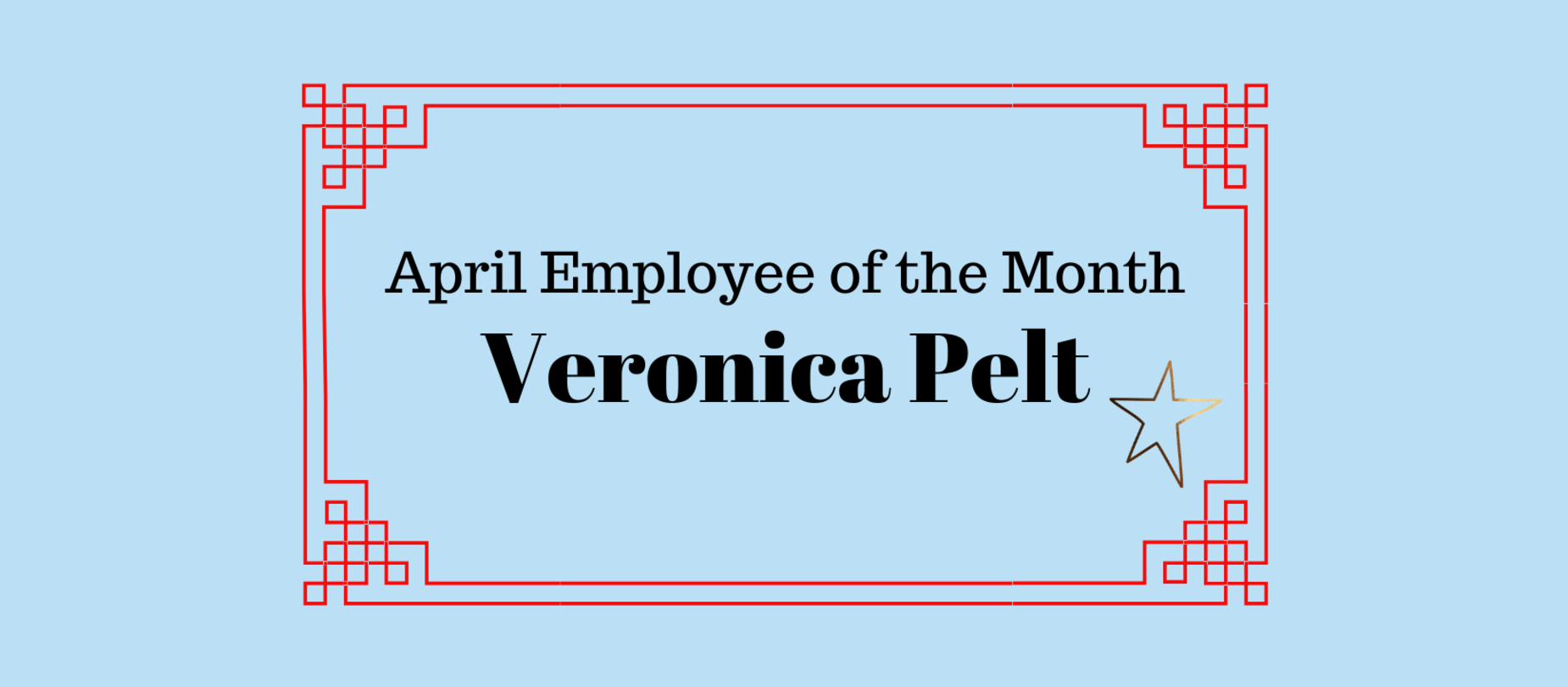 April Employee of the Month