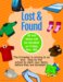 Lost and found flyer