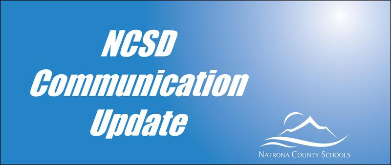 NCSD Communication Update