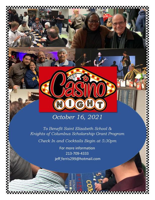 Casino Night Fall 2022!