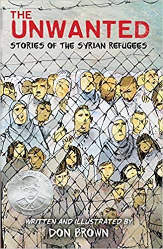 Book cover for The Unwanted: Stories of the Syrian Refugees