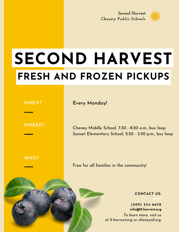 2nd Harvest Fresh and Frozen Food Pickup Information Thumbnail Image