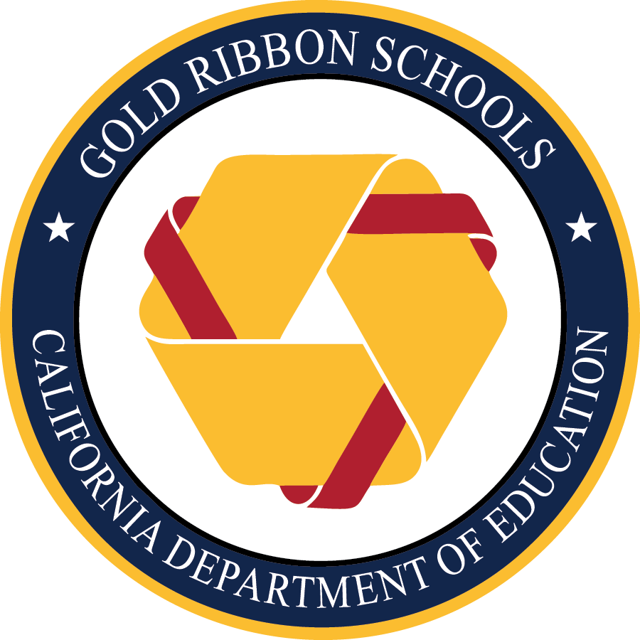 Gold Ribbon Schools Logo