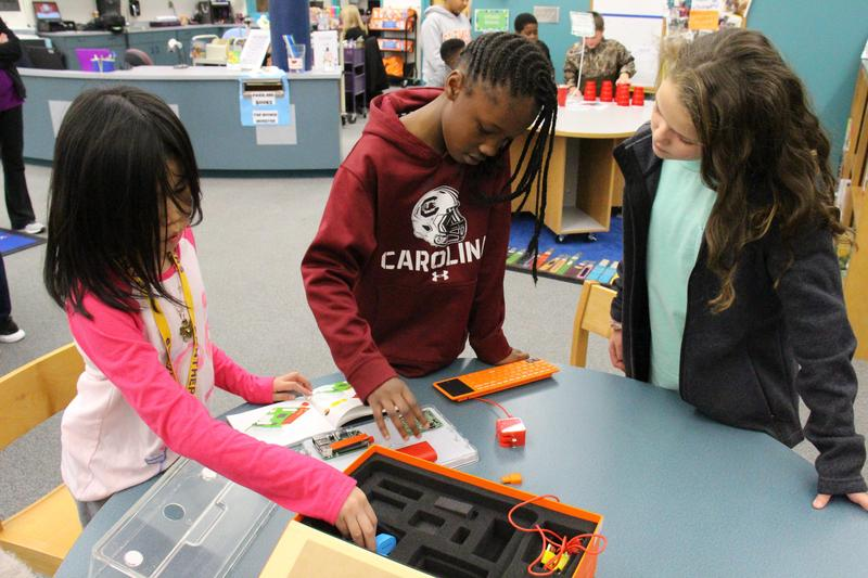 Lexington Three Students Participate In Hour of Code Activities