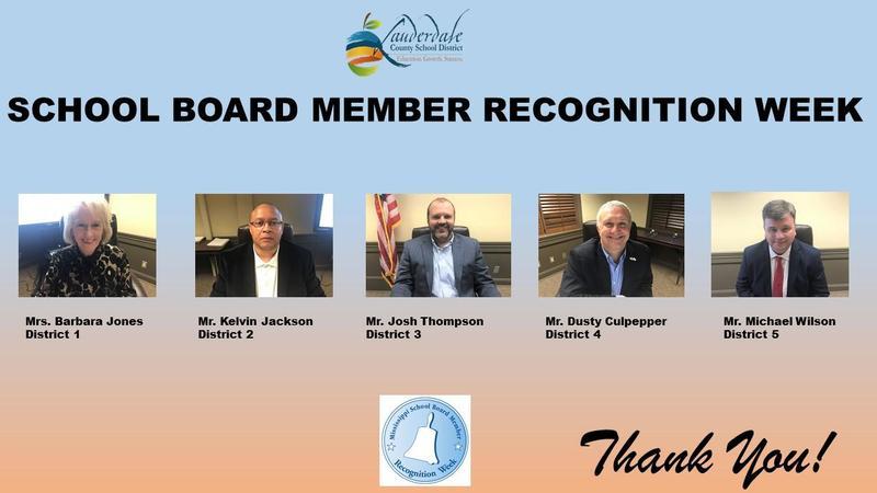 LCSD School Board Recognition Week