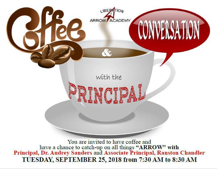 Coffee and Conversations with the Principal Featured Photo