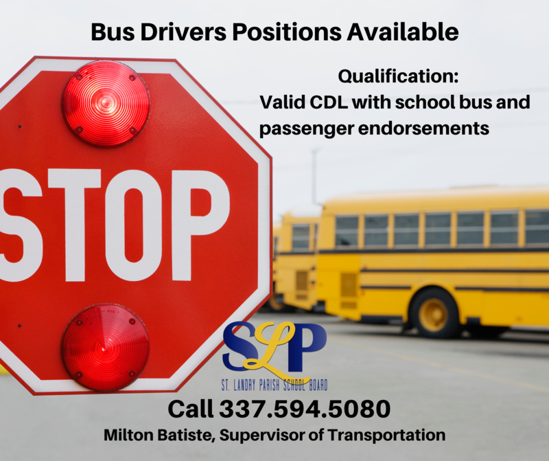 Bus driver needed