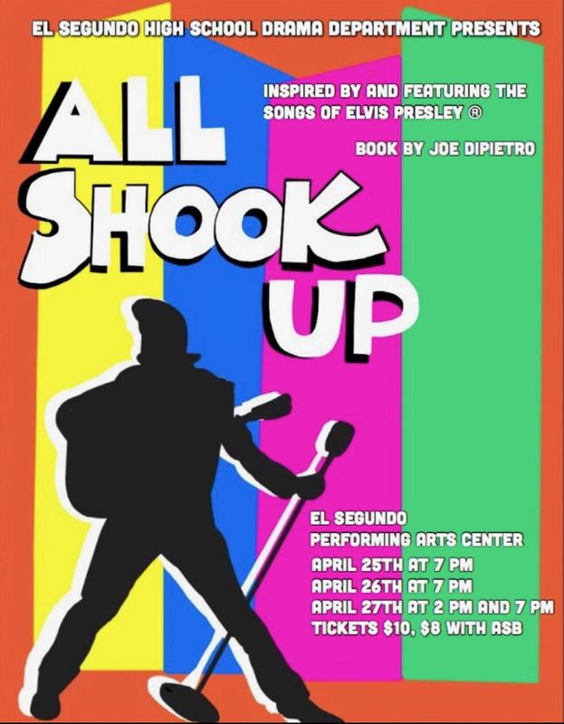 ESHS Drama Department Presents Spring Musical 'All Shook Up' April 25-27 Featured Photo