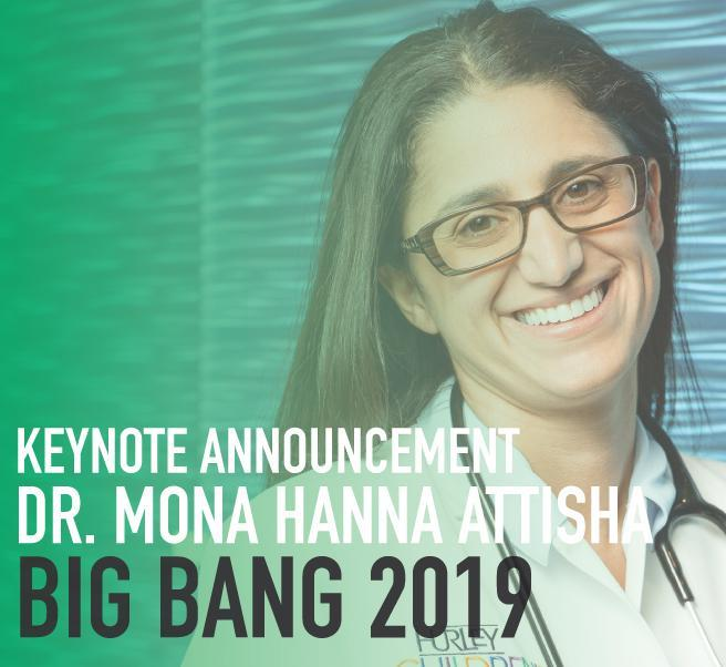 Dr. Mona Hanna-Attisha to Keynote Big Bang 2019 Featured Photo