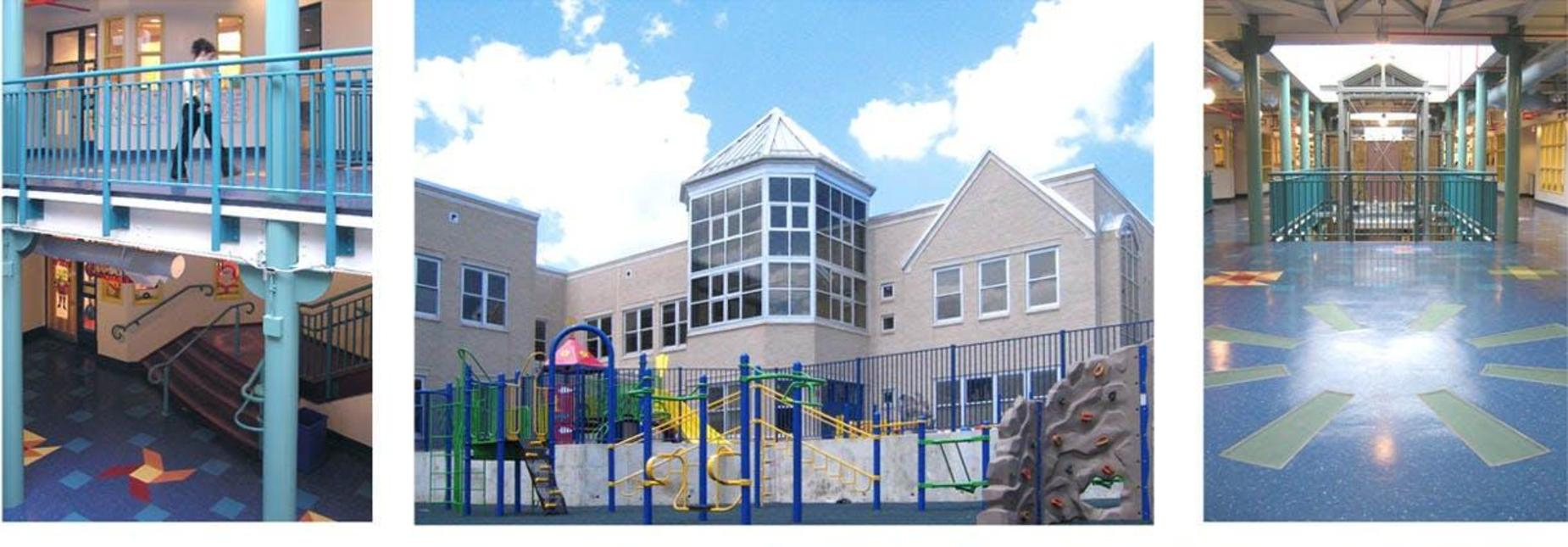 Kindergarten Annex interior and exterior