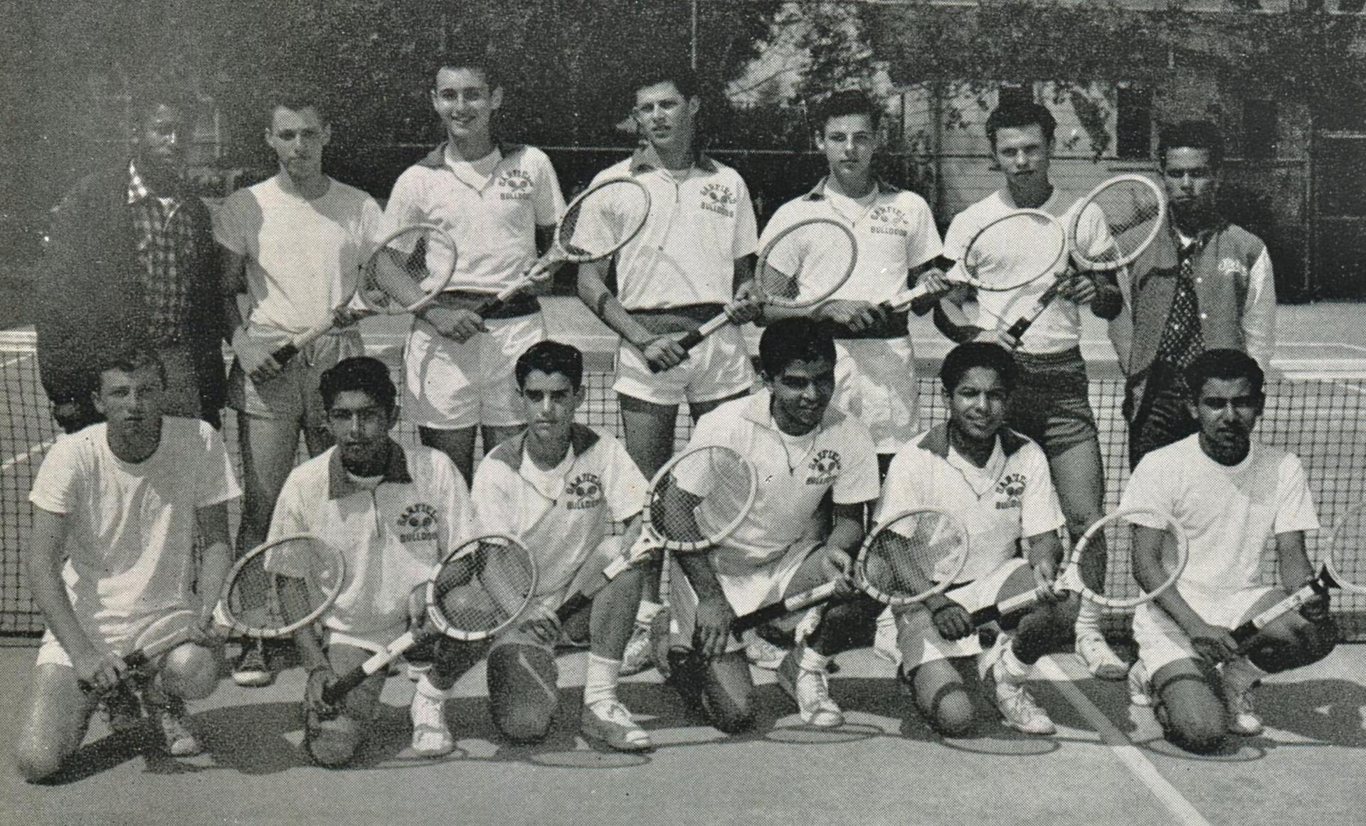 Tennis team 1955