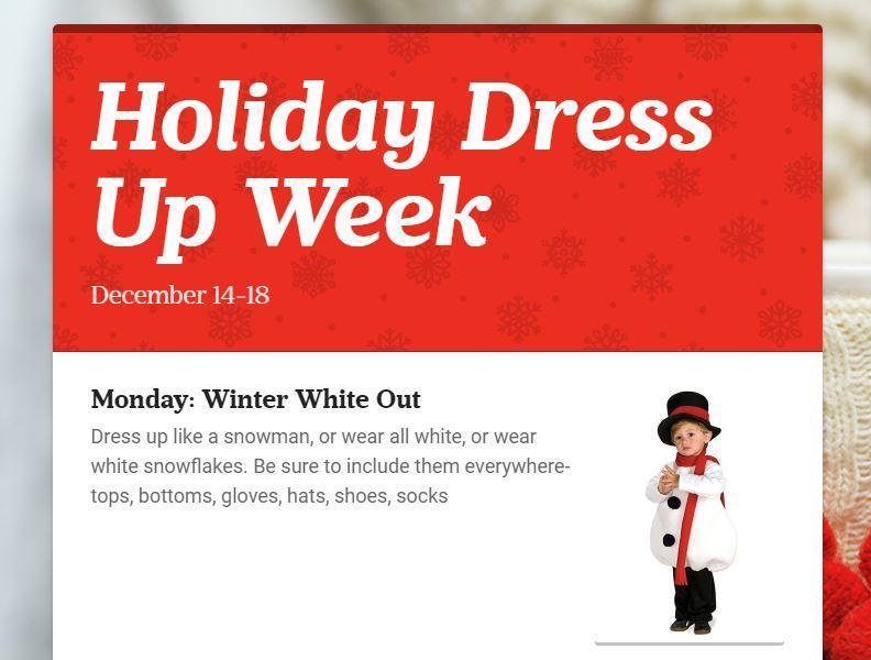 Holiday Dress-Up