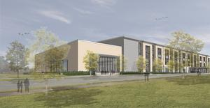 A rendering of the new KIPP Believe building
