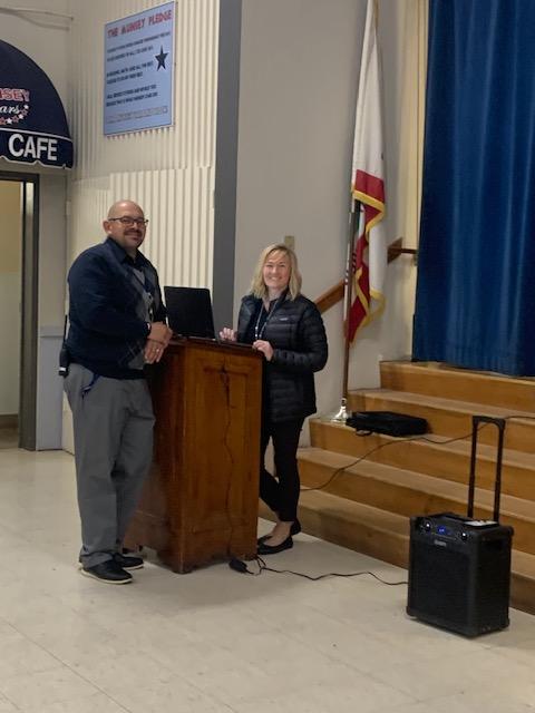 Mr. Saucedo and Mrs. Riess