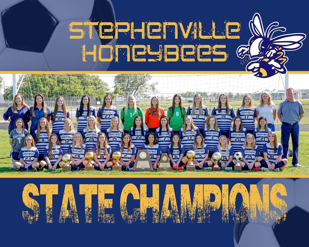 Honeybee Soccer State Champions