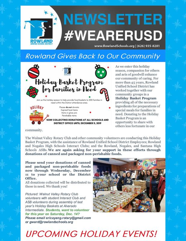 RUSD Holiday and Winter Events RUSD News Issue 12-5-19 Thumbnail Image
