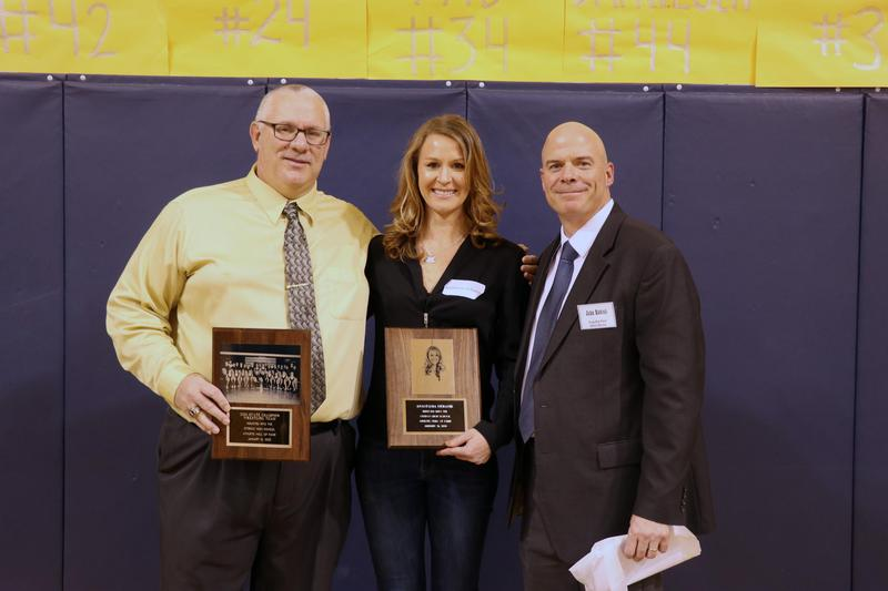 wrestling coach, anastasia and athletic director