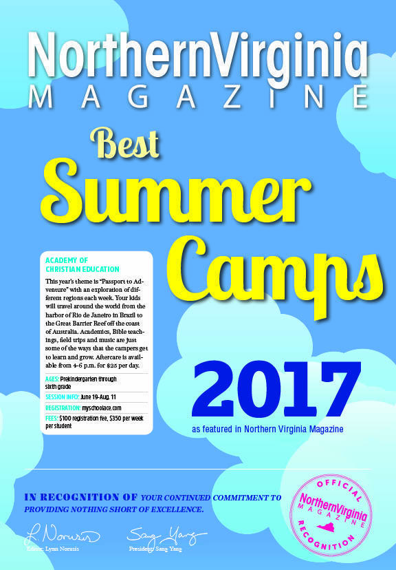 Northern Virginia Magazine Best Summer Camps 2017