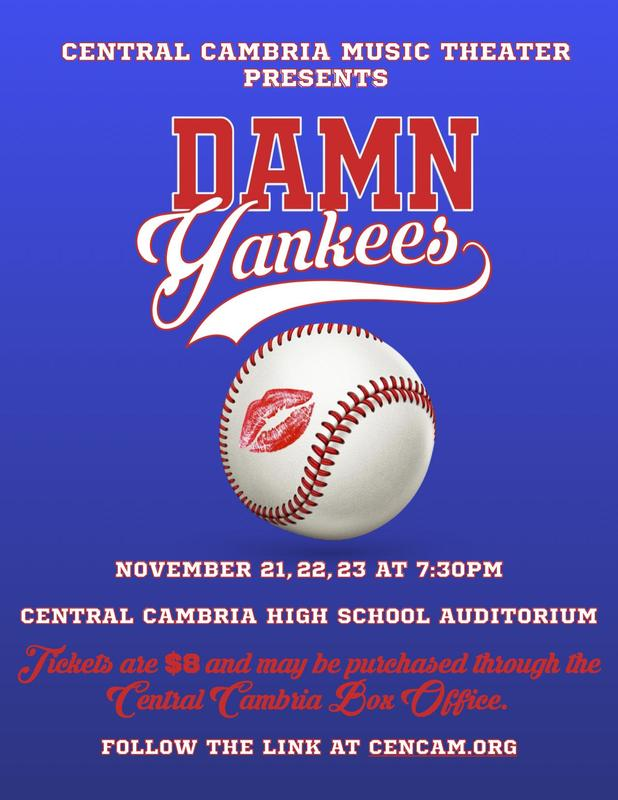 CC Musical Theater Presents Damn Yankees