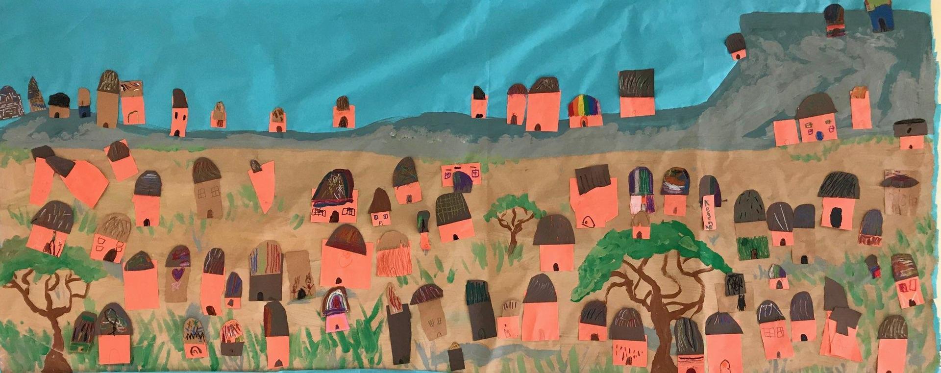 Adelphia Kindergarten African Mud Huts