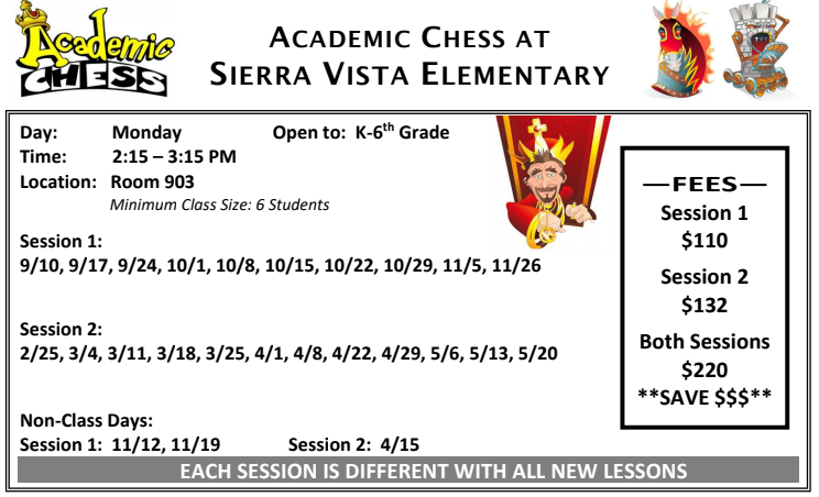 Academic Chess 18-19