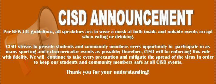 UIL Requirements for Masks