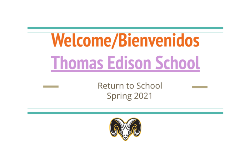 Welcome back to school title slide