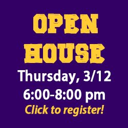 promo for spring open house
