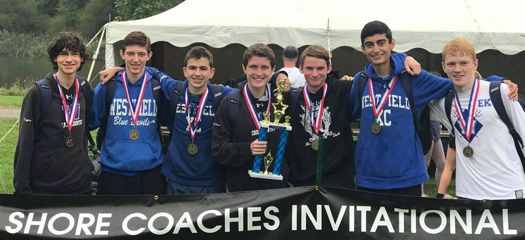 Boys XC Shore Coaches Invitational 2018