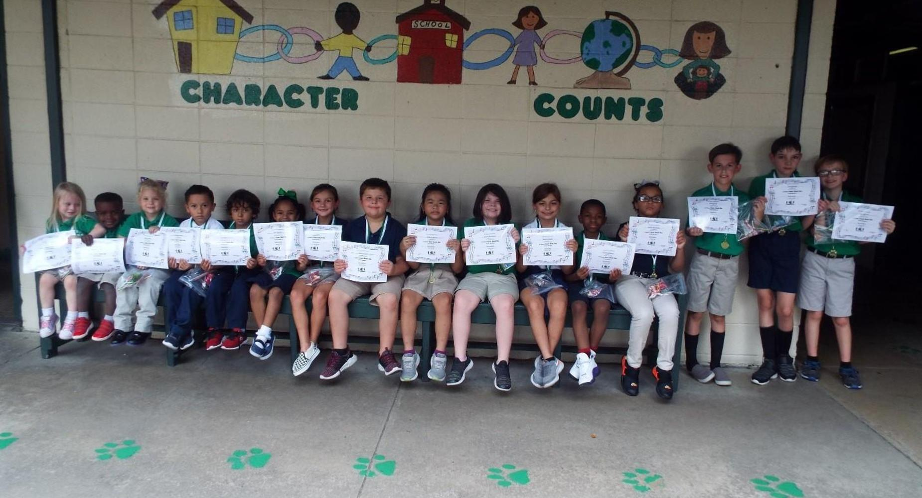 September 2019 student of the month