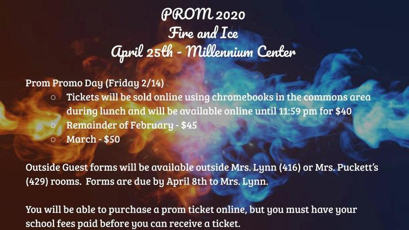 Prom Information Featured Photo