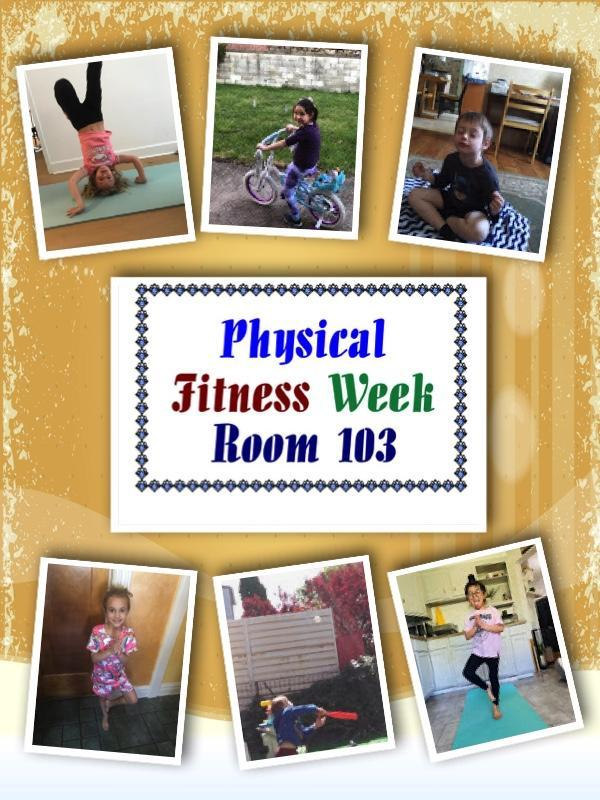 Mrs. Tello Physical Fitness Week Zoom