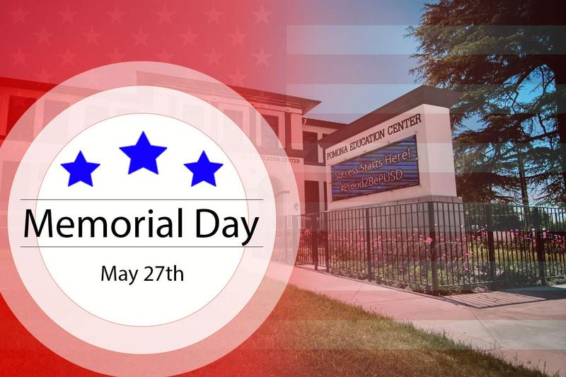 Memorial Day - All Schools Closed