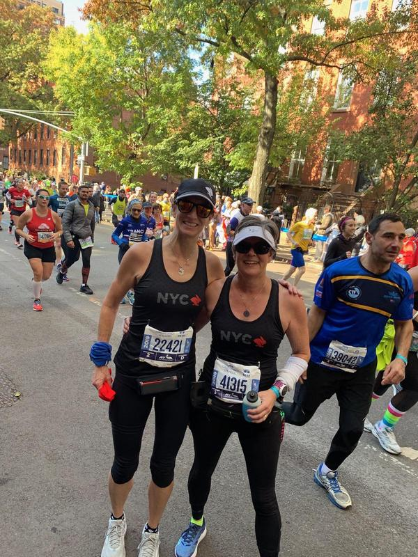 KCUSD employee in the New York City marathon