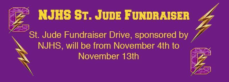 NJHS Service Project: St. Jude Fundraiser Drive