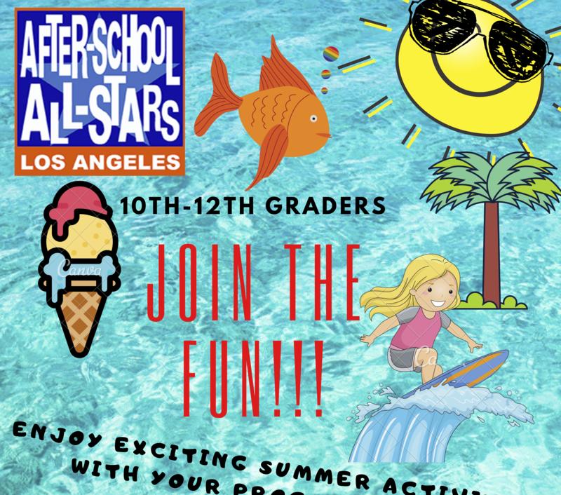 After School All-Stars Summer Fun