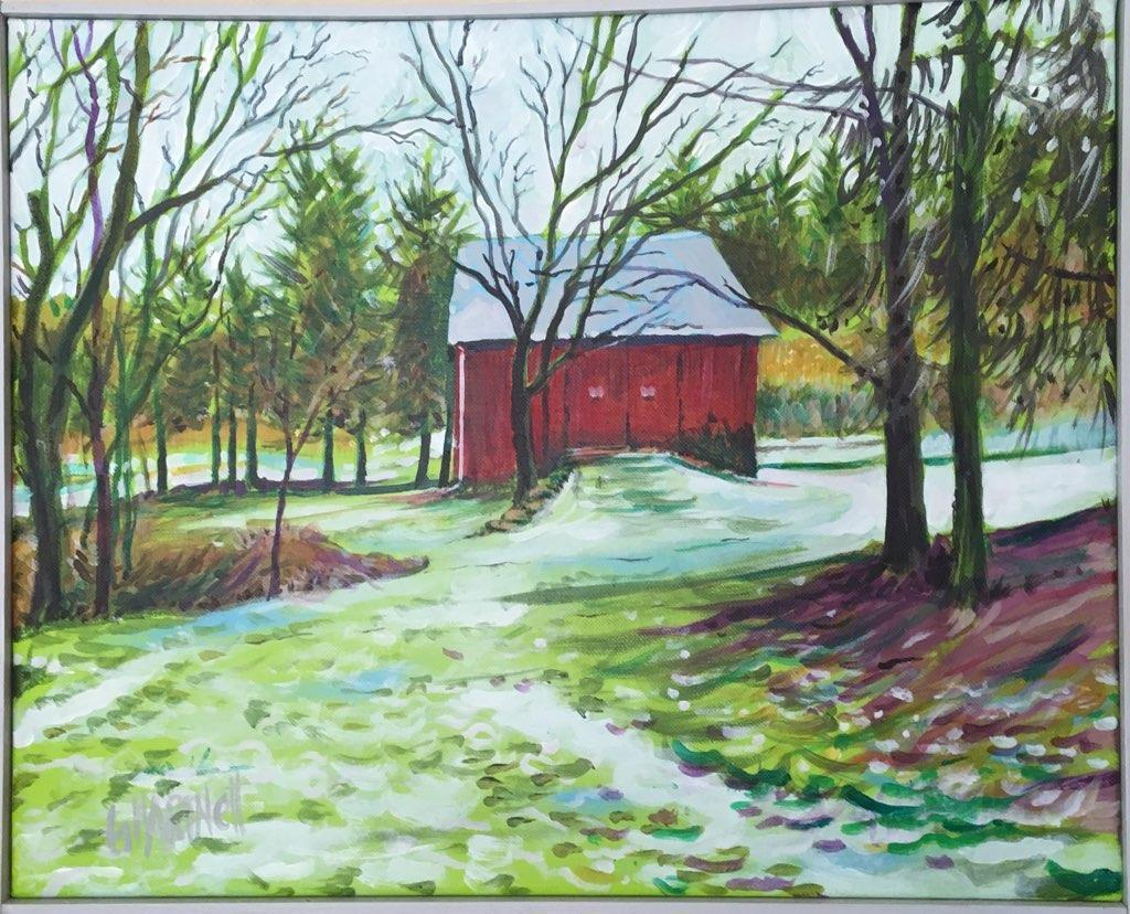 Glessner's barn