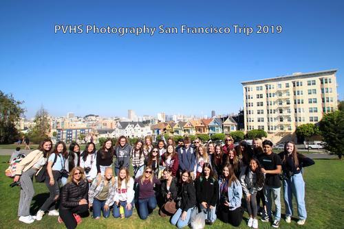 San Francisco Field Trip Student Group