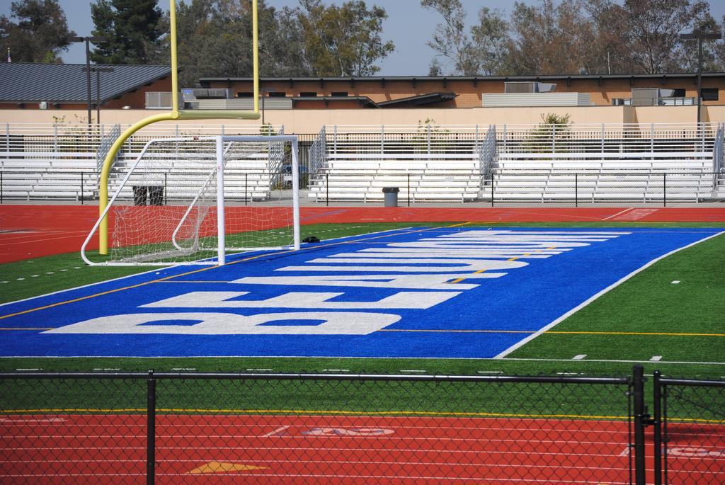 Football Stadium in Athletic Complex